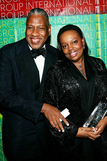 Andre Leon Talley and Pat McGrath