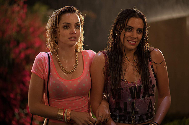 Ana de Armas and Lorenza Izzo in the film
