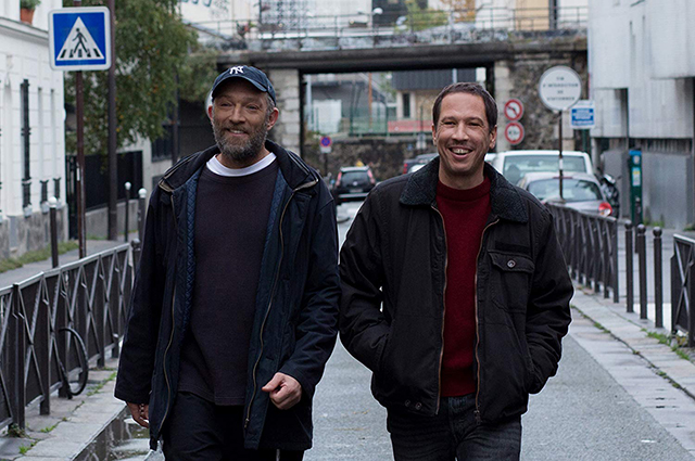 Vincent Cassel and Reda Ketab in the movie