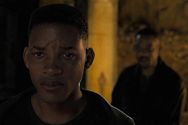 Will Smith in the movie