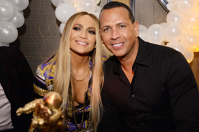 Jennifer Lopez and Alex Rodriguez celebrated their engagement with children and friends: photo