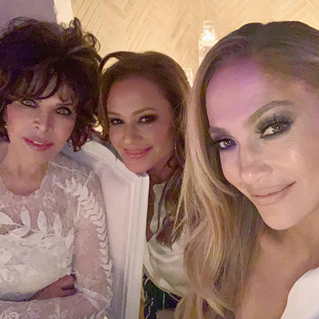 Carol Bayer Sager, Leah Remini and Jennifer Lopez