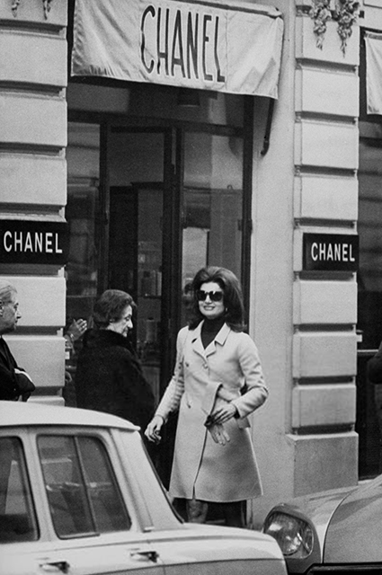 Jackie Kennedy at Chanel Boutique