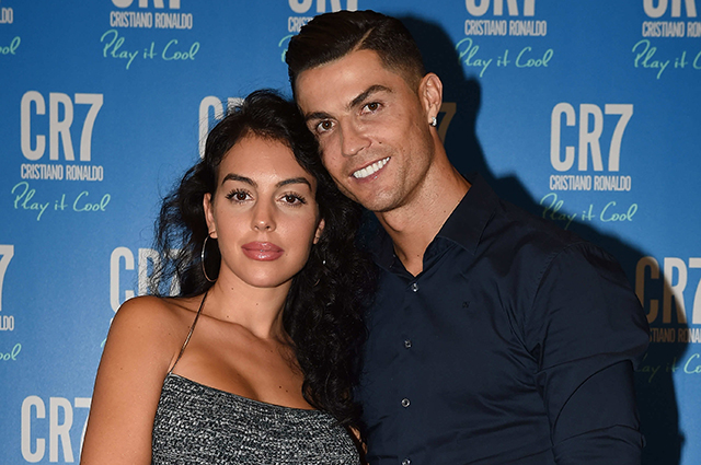 Georgina Rodriguez supported Cristiano Ronaldo at the presentation of his personal perfume