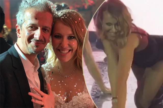 Striptease from the bride, a toast from Peskov, a song by Kirkorov and Loboda: how the wedding party of Sobchak and Bogomolov went
