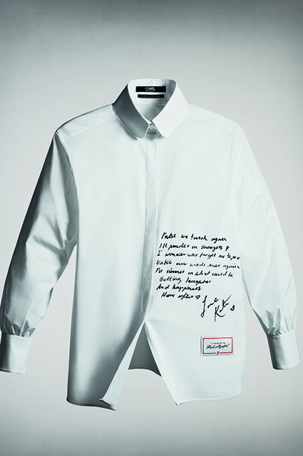 Shirt by Kate Moss