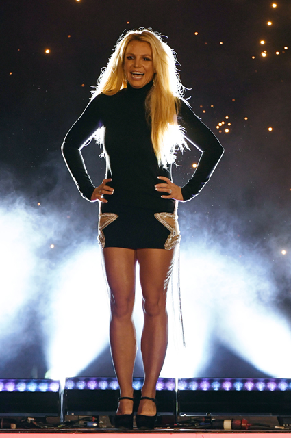 Britney Spears at the 2018 performance
