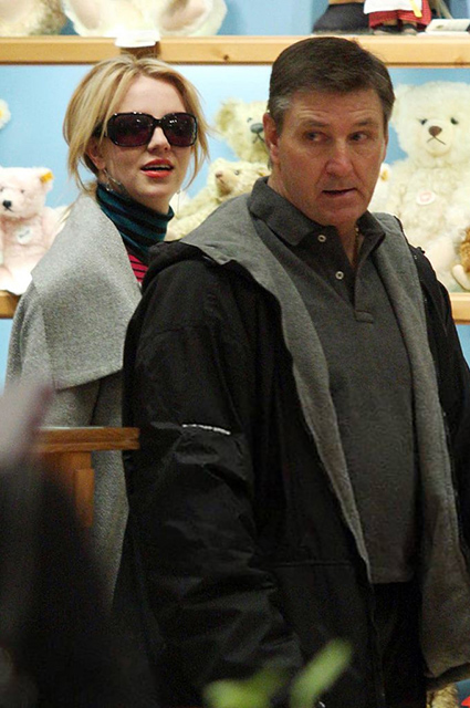 Britney Spears with father