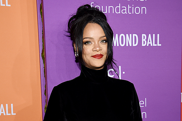 Rihanna warmed up rumors about her pregnancy