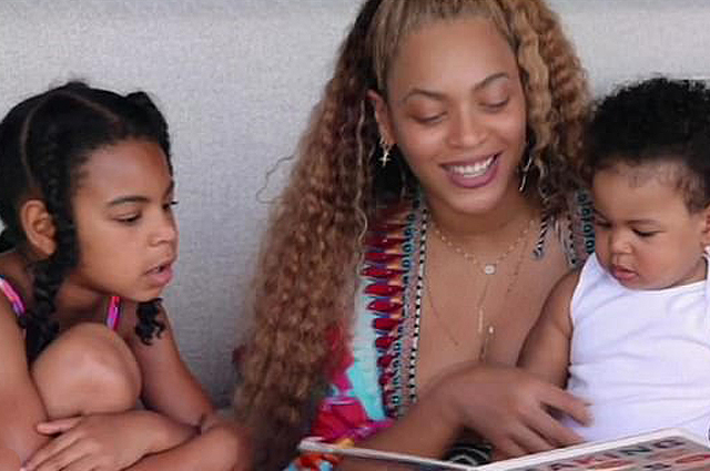 Beyonce showed rare family shots with her husband and children in a new documentary