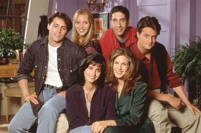 Matt LeBlanc, Lisa Kudrow, David Schwimmer, Matthew Perry, Courtney Cox and Jennifer Aniston