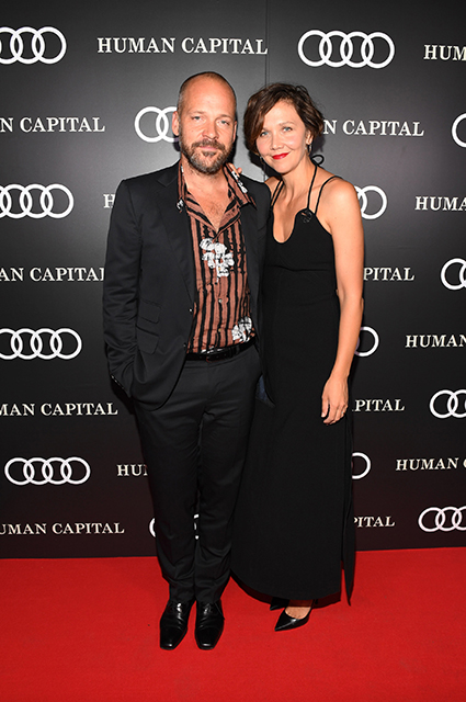 Peter Sarsgaard with wife Maggie Gyllenhaal