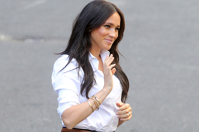 Meghan Markle presented her capsule clothing collection in London