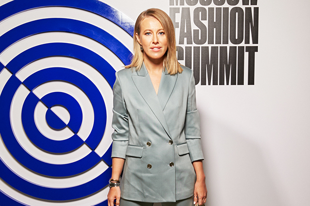 Ksenia Sobchak, Masha Fedorova, Karin Roitfeld and others at the Moscow Fashion Summit