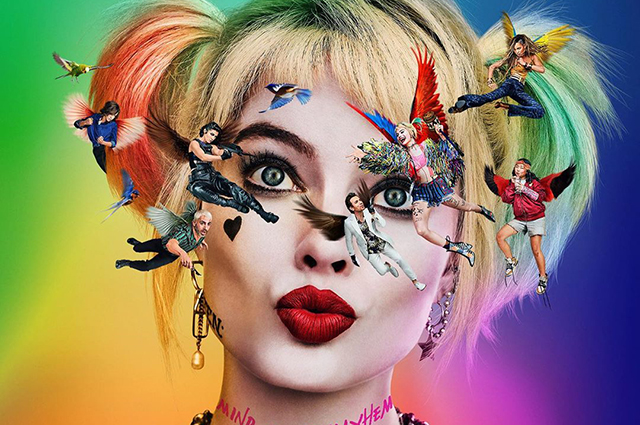 Margot Robbie showed the first poster of her new film
