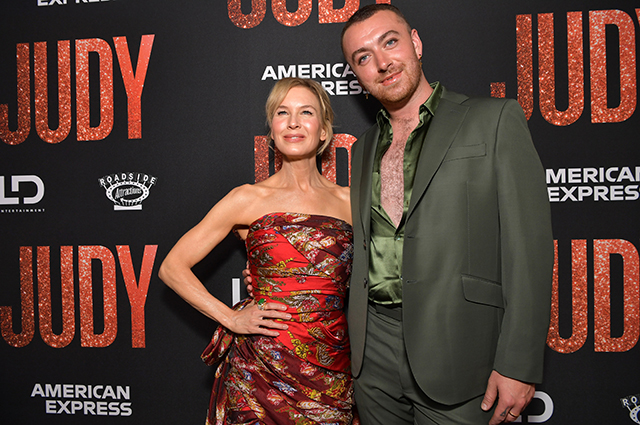 Renee Zellweger and Sam Smith