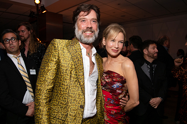 Rufus Wainwright and Renee Zellweger