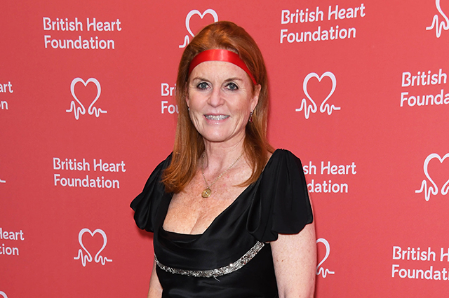 Sarah Ferguson at a charity evening in London