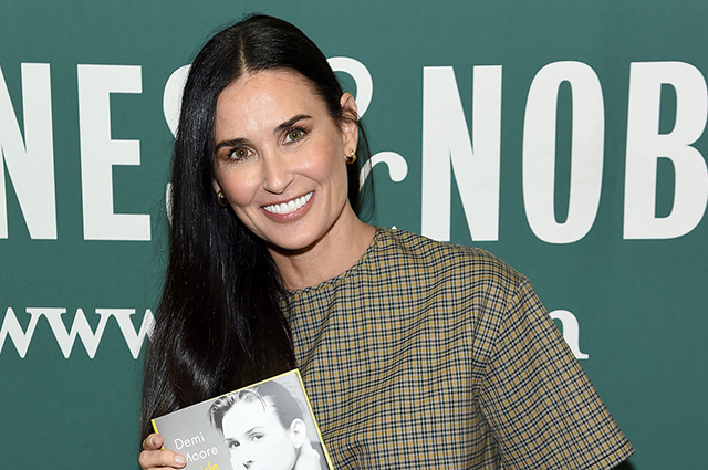 Demi Moore gave an interview about rape, filming a nude and missed role