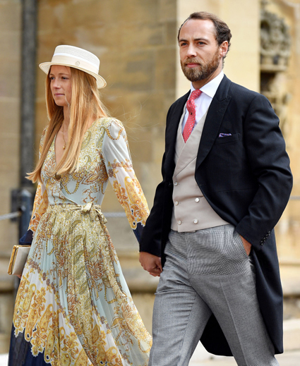 Alize Thevene and James Middleton