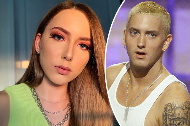 Eminem's daughter Hayley Scott Mathers published a new selfie: subscribers discuss her resemblance to her father