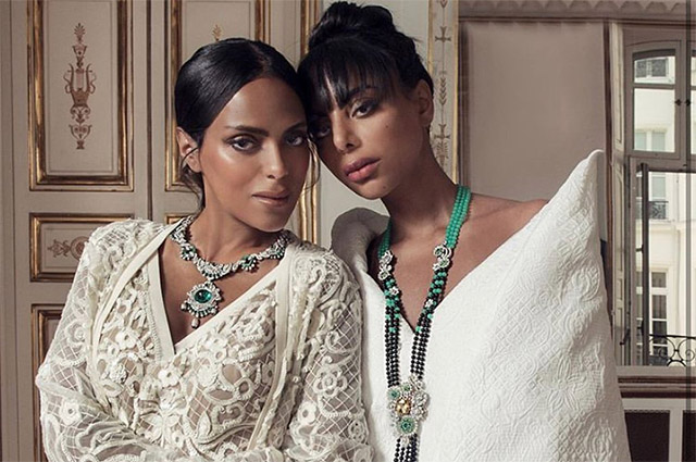 The princesses of Saudi Arabia and the representatives of the Arab monarchies starred for Vogue