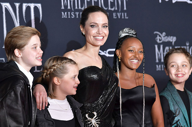 Angelina Jolie's daughter, 14-year-old Zahara released a jewelry collection
