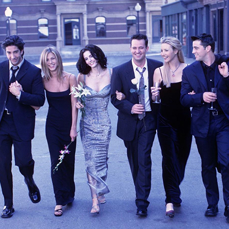 David Schwimmer, Jennifer Aniston, Courtney Cox, Matthew Perry, Lisa Kudrow and Matt Leblanc