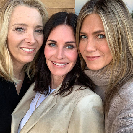 Lisa Kudrow, Courtney Cox and Jennifer Aniston