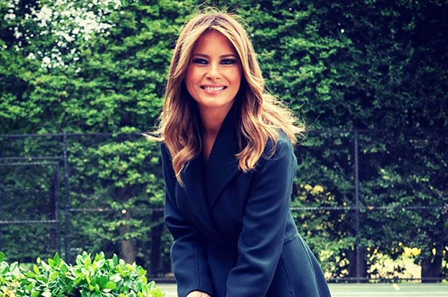 Melania Trump launched the construction of a tennis club on the territory of the White House