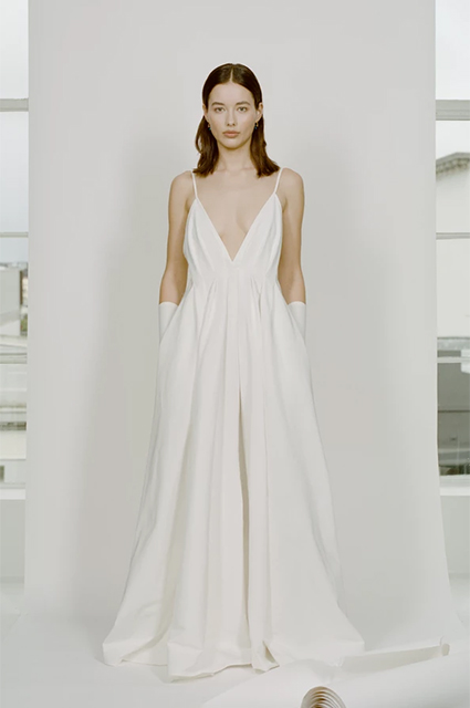 Dress from the Paris Georgia wedding collection