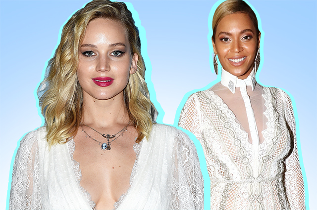 Jennifer Lawrence, Beyoncé, Priyanka Chopra and other stars who went on the red carpet in wedding dresses