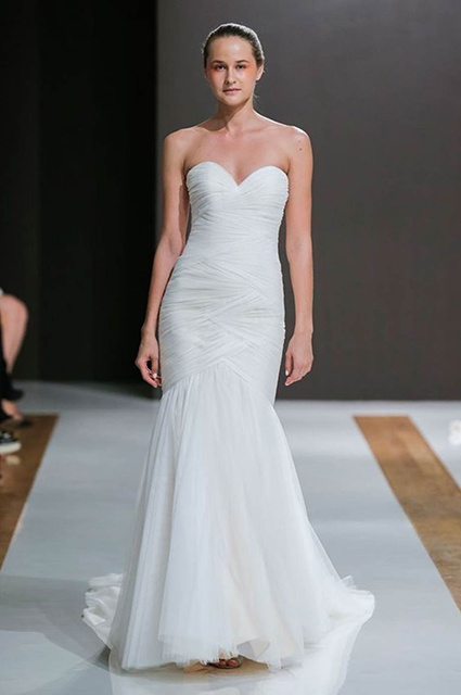 Dress from the 2018 Mark Zunino spring wedding collection