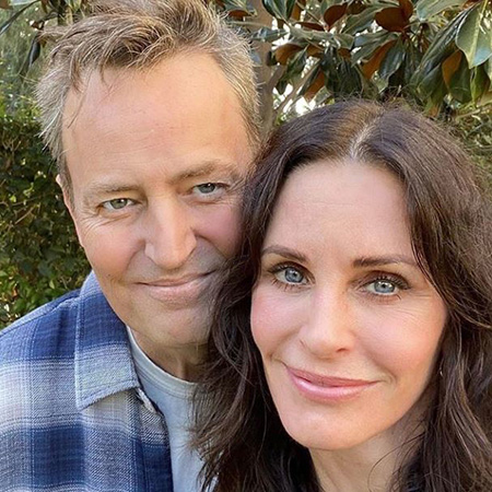 Matthew Perry and Courtney Cox