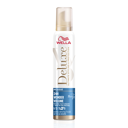 Мусс Wella Deluxe Wonder volume & protection