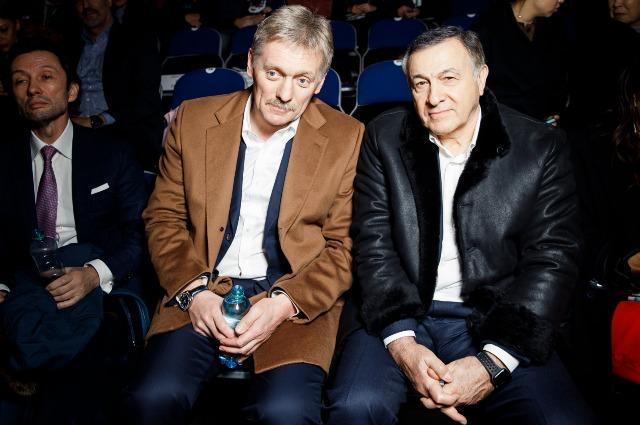 Dmitry Peskov and Araz Agalarov