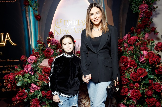 Ani Lorak with her daughter