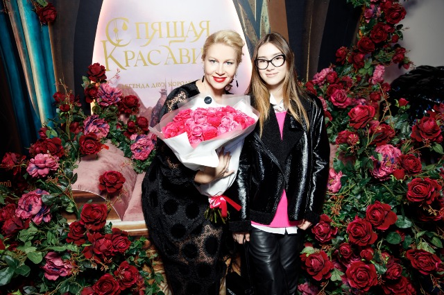 Ekaterina Odintsova with daughter Dina