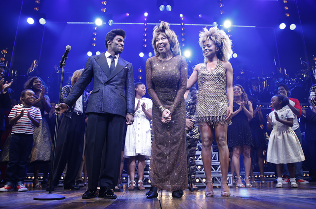 The premiere of the musical Tina: The Tina Turner Musical
