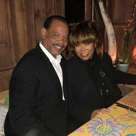 Tina Turner with her son Craig