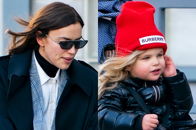 Walking with her daughter and meeting friends: Irina Shayk spends Christmas holidays in New York