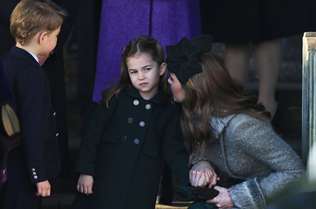 Kate Middleton with son George and daughter Charlotte