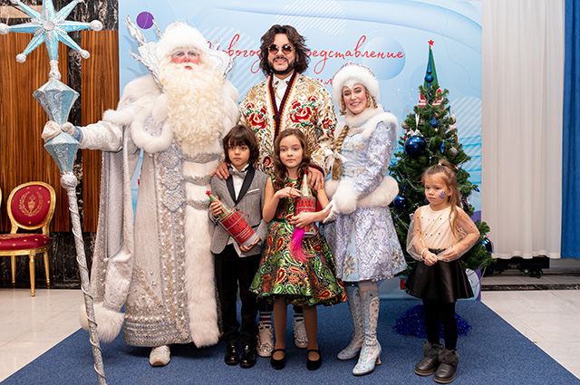 Philip Kirkorov with children