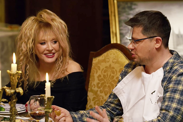 Alla Pugacheva starred in the New Year show of Nastya Ivleeva and took her to her family estate