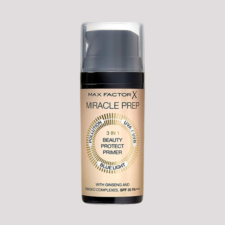 Праймер Miracle prep 3-in-1 Beauty Protect Primer, Max Factor