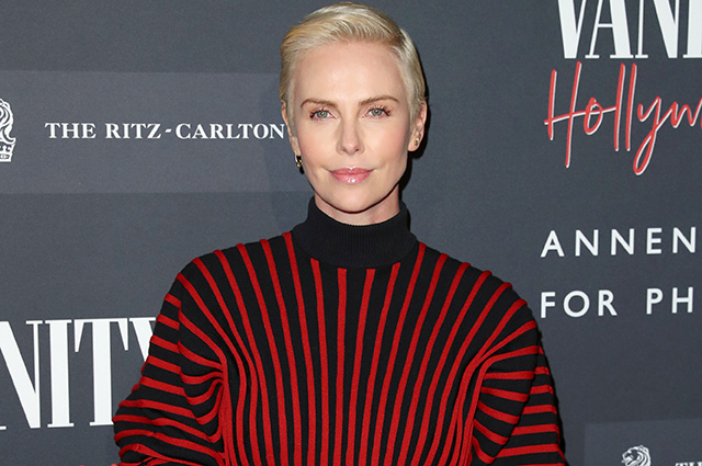 Charlize Theron, Demi Moore, Sharon Stone and others at the opening of a photo exhibition in Los Angeles