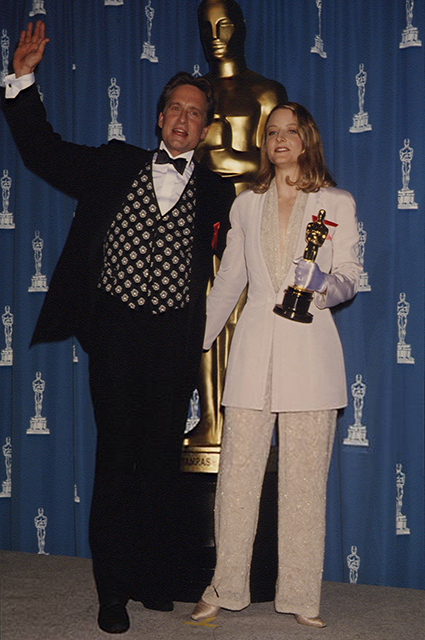 Michael Douglas and Jodie Foster