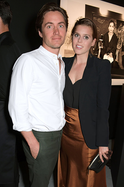Edoardo Mapelli-Mozzi and Princess Beatrice