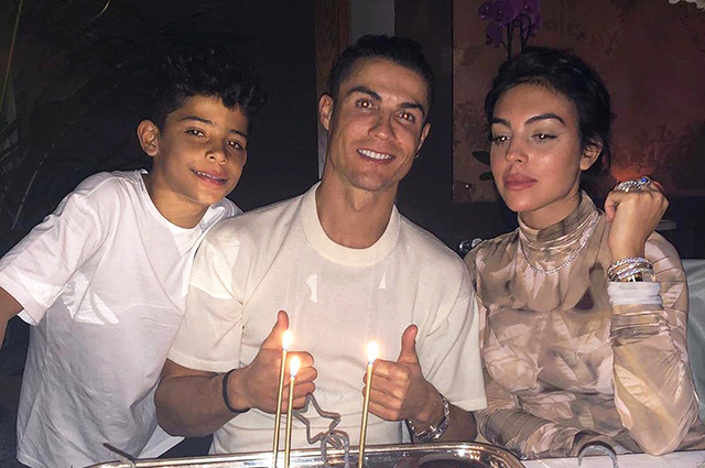 Georgina Rodriguez gave Cristiano Ronaldo a surprise on his birthday