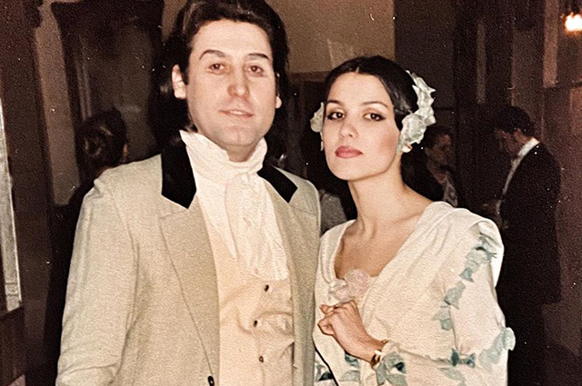 Anna Netrebko published archival photos and showed how she was in her youth